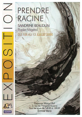 «Prendre Racine» Sandrine Beaudun