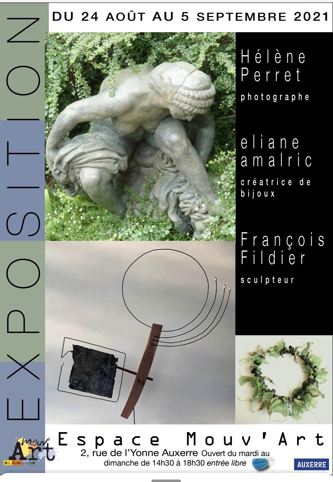 Hélène Perret / elaine amalric / François Fildier
