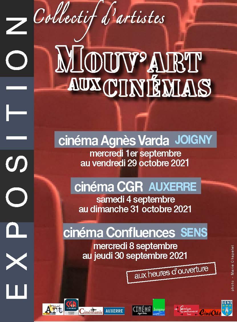 Mouv'art aux cinémas